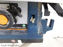2 ryobi bts21 table saws item dm9453 sold august 2 ve