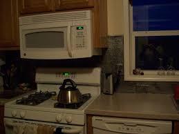 Faux Tin Kitchen Backsplash Pvc Backsplash Installed