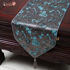 home decor table runner proud rose chinese style silks and satins table runner tablecloth