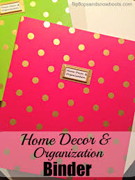 home decor and organization binder dream design diy