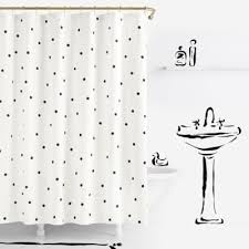 Black Polka Dot Curtains Attractive Ideas Black And White Polka Dot Curtains Buy From Bed