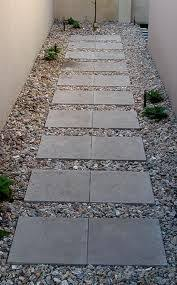 Simple Backyard Landscaping Ideas How To Lay Stepping Stones Creating A Simple Path Using Paving