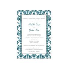 damask wedding invitations damask wedding invitation wedding invitations