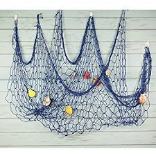bilipala mediterranean fishing net decoration fish