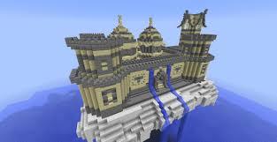 sky castle u003d minecraft project