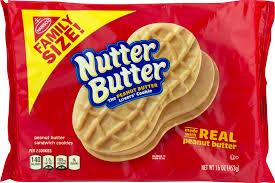 Nutter Butter Halloween Ghost Cookies by Nutter Butter Cookies Family Size 16 0 Oz Walmart Com