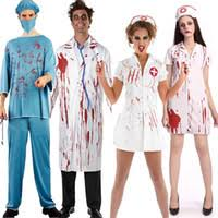 Bloody Nurse Halloween Costume Cheap Doctor Nurse Halloween Costumes Free Shipping Doctor Nurse