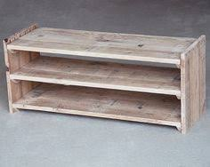 wooden meubles wooden shoe rack handmade pallet furniture por palletablesuk