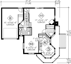 Victorian Floor Plan Victorian Style House Plan 2 Beds 1 50 Baths 1462 Sq Ft Plan 25