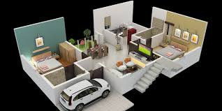 East Facing Duplex House Floor Plans by Nirantara Housing Projects