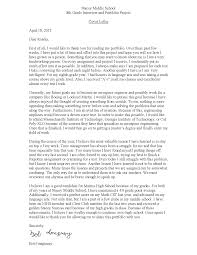 enchanting sample cover letter for english portfolio 78 about