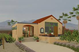 southwestern home plans adobe southwestern style house plan 1 beds 1 baths 398 sq ft