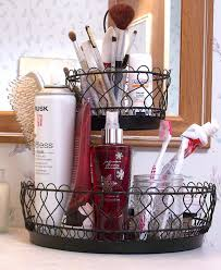 Bathroom Countertop Storage Ideas Bathroom Ideas Black Iron Bathroom Storage Basket Combined Brown