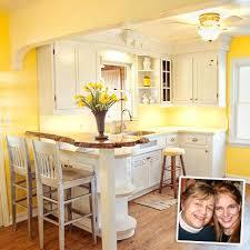White And Yellow Kitchen Ideas - yellow kitchen ideas modern home design