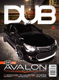 lexus ls vs toyota avalon dub magazine issue 84 toyota avalon and toyota