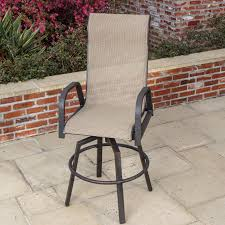 Patio Bar Furniture Sets - madison bay sling patio bar stool by lakeview outdoor designs