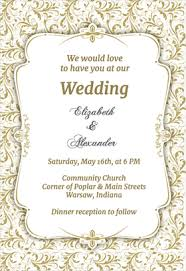 wedding reception invitations templates awesome reception