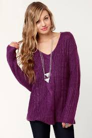purple sweater purple sweater cable sweater oversized sweater 60 00