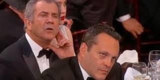 Vince Vaughn Meme - vince vaughn and mel gibson looked deeply unimpressed during meryl