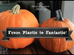 plastic pumpkins plastic pumpkins look real