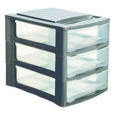 bureau tiroirs tour de rangement module a4 3 tiroirs bureau gris métal