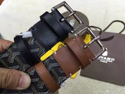 1 1 goyard buckle heart with luxury quality designer belts for men