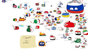 World Map Of Middle East by Polandball Comics Collection Of Polandball And Countryball