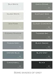 grey colors shades of grey colour names ohio trm furniture