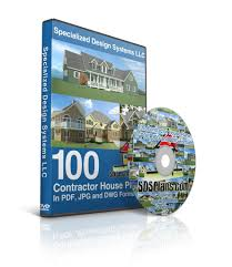 dvd with 100 autocad dwg house plans guest house plans