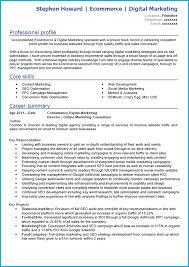 social media marketing resume sample advertising account
