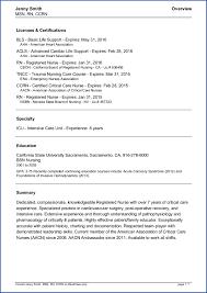 Resume Of Job Application by Travel Nurse Resume Berathen Com