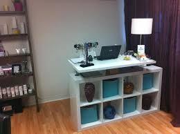 tufted salon reception desk 259 best lash studio decor images on pinterest beauty salons nail