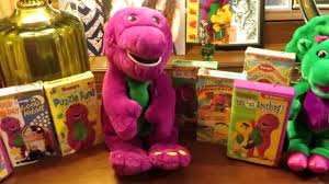 talking interactive barney the dinosaur 1997 plush actimates by