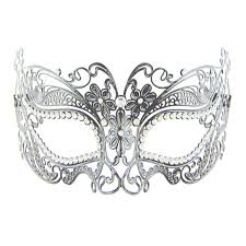 metal masquerade mask silver metal masquerade mask macsound electronics theatrical