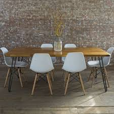 mid century modern dining room table with design image 11863 zenboa