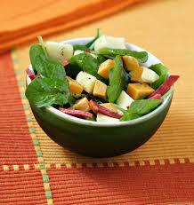 pousse pousse cuisine salade de pousse d épinard chorizo et mimolette les meilleures