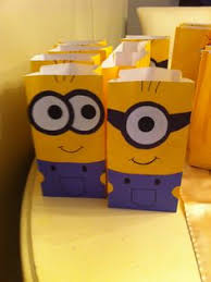 minion gift bags minions party favors dollar tree containers black silver