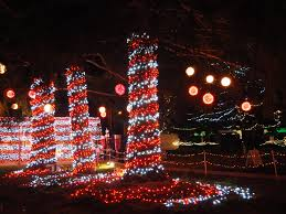 Candy Cane Lights The Lights Of Christmas In Warm Beach Wa Mellzah