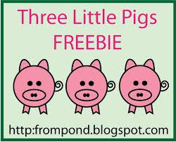 classroom freebies pigs cut u0026 paste