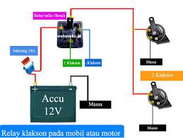 cara memasang relay klakson motor mobil wahyu service