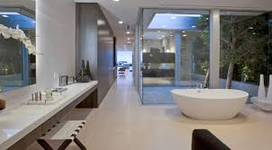 contemporary and bathroom interior design of beverly - Bathroom Design Los Angeles