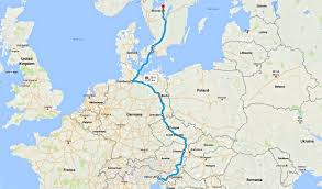 udine italy map day 95 italy to sweden 4000 km anoop shekar