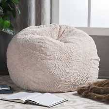 fur bean bag ebay