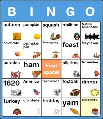 free thanksgiving day bingo cards for no software or signup