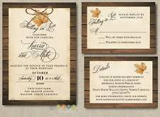 autumn wedding invitations fall wedding invitations ebay