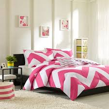 Pink And Yellow Bedding Shop Mizone Libra Chevron Pink U0026 Grey The Home Decorating Company