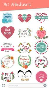 mothers day stickers s day 2018 stickers by scholarific llc
