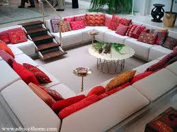 Livingroom Themes by And White Square Living Room Color Themes With Red Ethnical