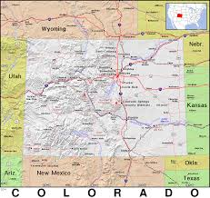 Colorado Maps by Co Colorado Public Domain Maps By Pat The Free Open Source