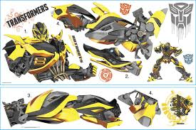 transformers age of extinction bumblebee peel and stick giant